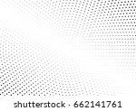 abstract halftone dotted... | Shutterstock .eps vector #662141761