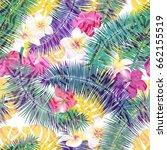 beautiful seamless vector... | Shutterstock .eps vector #662155519