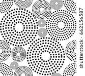 vector seamless patterns.... | Shutterstock .eps vector #662156587