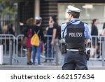german police officer | Shutterstock . vector #662157634