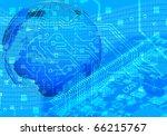 blue internet concept | Shutterstock . vector #66215767