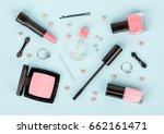 set of professional decorative... | Shutterstock . vector #662161471