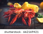 Crawfish  Crayfish Boil Close...