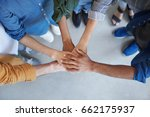 solidarity and unity conept.... | Shutterstock . vector #662175937