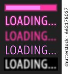 loading various text with...