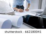 engineering project in progress.... | Shutterstock . vector #662180041