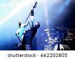 barcelona   jun 1  gojira ...   Shutterstock . vector #662202805