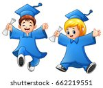 vector illustration of cartoon... | Shutterstock .eps vector #662219551