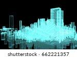 power grid   smart city energy  ... | Shutterstock . vector #662221357
