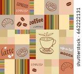coffee. background | Shutterstock .eps vector #662222131