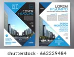 business brochure. flyer design.... | Shutterstock .eps vector #662229484