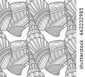 seamless pattern with...   Shutterstock .eps vector #662232985