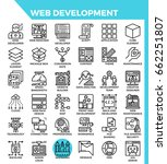 web development concept...