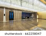 hotel lobby interior | Shutterstock . vector #662258047