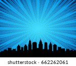 comic book style background ... | Shutterstock .eps vector #662262061