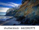 hiking at calvert cliff state... | Shutterstock . vector #662281975