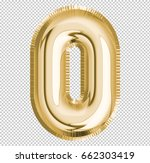 number zero  0 letter alphabet... | Shutterstock . vector #662303419