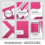 abstract vector layout... | Shutterstock .eps vector #662321281