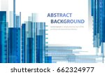 technology abstract blue...   Shutterstock . vector #662324977