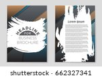 abstract vector layout... | Shutterstock .eps vector #662327341