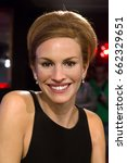 Small photo of London, United Kingdom - May 25, 2016: Julia Roberts in Madame Tussauds of London
