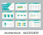 abstract presentation slide... | Shutterstock .eps vector #662331835