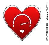 love meter   Shutterstock . vector #662337604