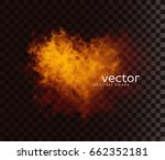 vector illustration of smoky... | Shutterstock .eps vector #662352181