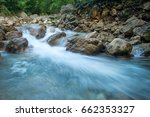 Forest Creek With Waterfalls....