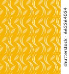 vector seamless pattern with... | Shutterstock .eps vector #662364034