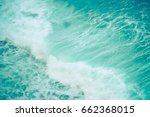 seething mediterranean sea... | Shutterstock . vector #662368015