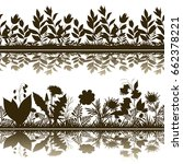 horizontal seamless pattern ... | Shutterstock . vector #662378221