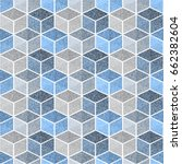 seamless geometric pattern with ... | Shutterstock .eps vector #662382604
