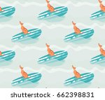 hand drawn vector abstract... | Shutterstock .eps vector #662398831