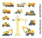 Heavy Construction Machines....