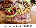 homemade romania and moldova... | Shutterstock . vector #662404381