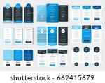 collection of coloful pricing... | Shutterstock .eps vector #662415679