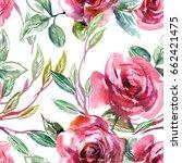 Roses Seamless Pattern....