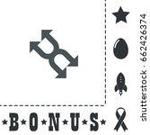 arrows icon illustration. flat...