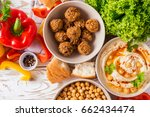 traditional middle eastern... | Shutterstock . vector #662434474