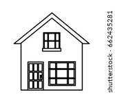 house icon image | Shutterstock .eps vector #662435281