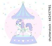 Cute Pony On A Beautiful...