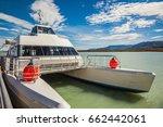 big catamaran for tourists.... | Shutterstock . vector #662442061