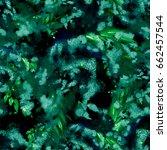 watercolor seamless pattern... | Shutterstock . vector #662457544