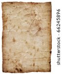 old paper sheet | Shutterstock . vector #66245896