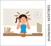 stress vector   Shutterstock .eps vector #662473831