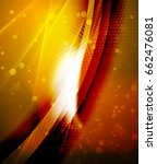 shiny glittering vector... | Shutterstock .eps vector #662476081