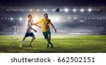 football hottest moments | Shutterstock . vector #662502151
