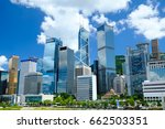 hong kong corporate buildings | Shutterstock . vector #662503351