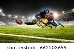 opposition of two teams. mixed... | Shutterstock . vector #662503699